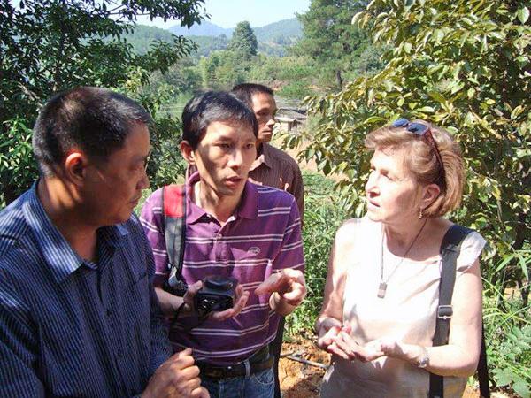 I affärsdiskussion med Teatree producenter i Fuijan, Kina