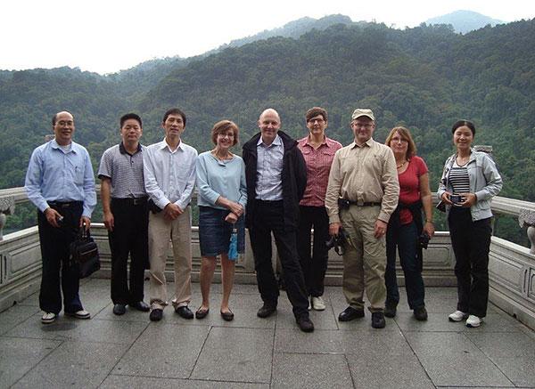 Med skogsägardelegation i Kina för att diskutera skogsägarrörelsen som modell